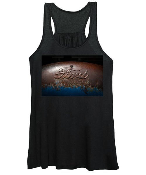 Ford Tractor Logo Women's Tank Top