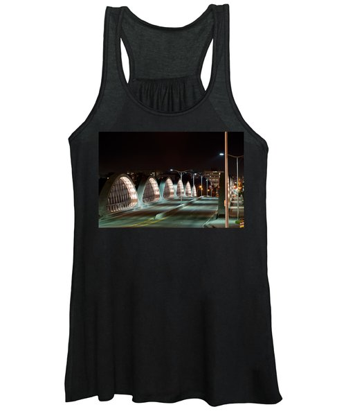 Fort Worth Seventh Street Bridge Oct 10 2014 Women's Tank Top