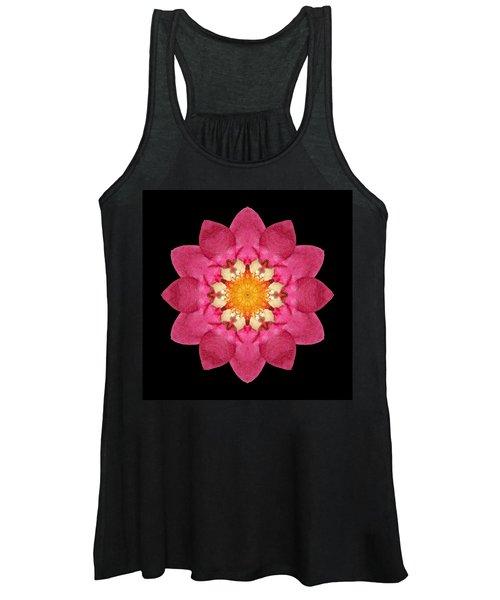 Fragaria Flower Mandala Women's Tank Top