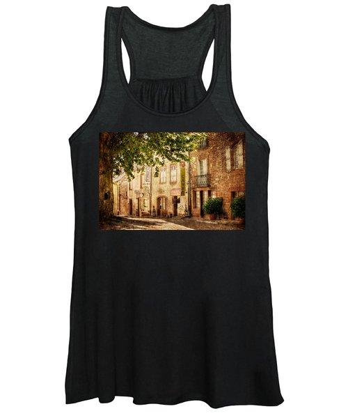French Village Street / Meyssac Women's Tank Top