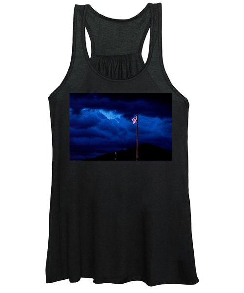 Gave Proof Through The Night That Our Flag Was Still There. Women's Tank Top