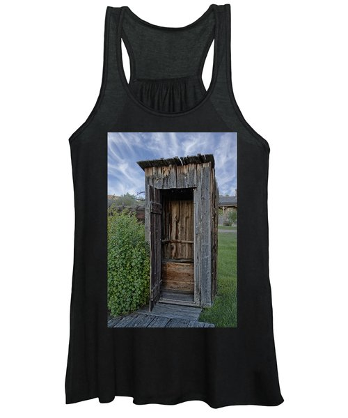 Ghost Town Outhouse - Montana Women's Tank Top