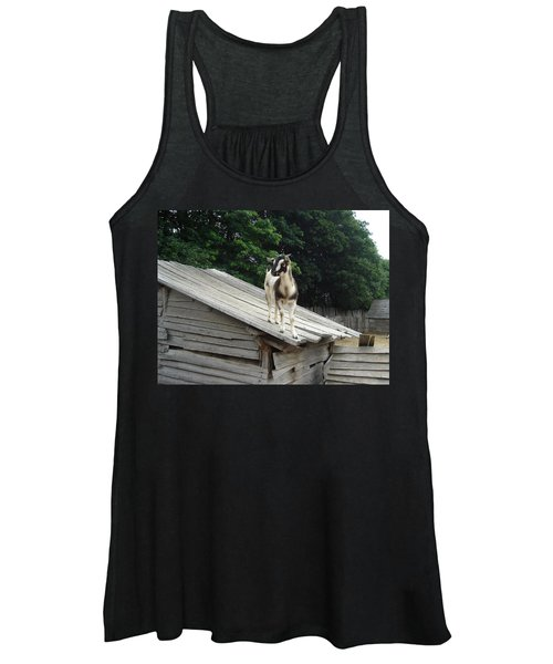 Goat On The Roof Women's Tank Top