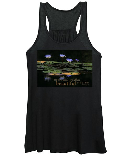 Peace Of Mind With Message Women's Tank Top