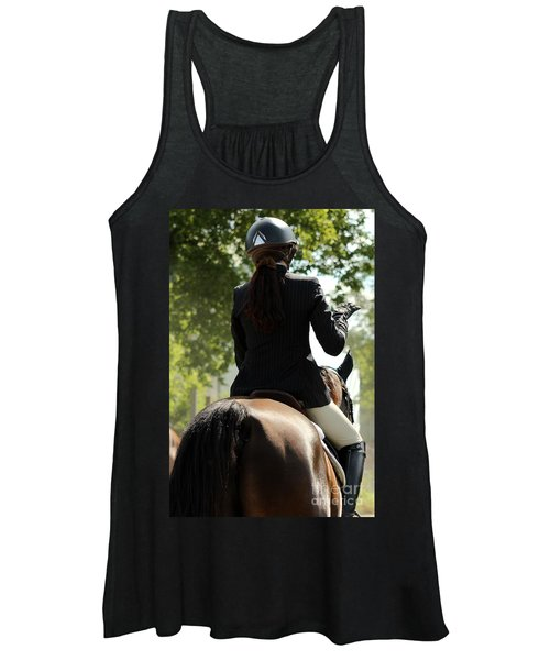 Going Over The Course Women's Tank Top