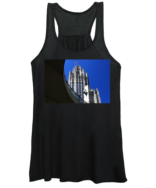 Gothic Tribune Tower Curve Women's Tank Top