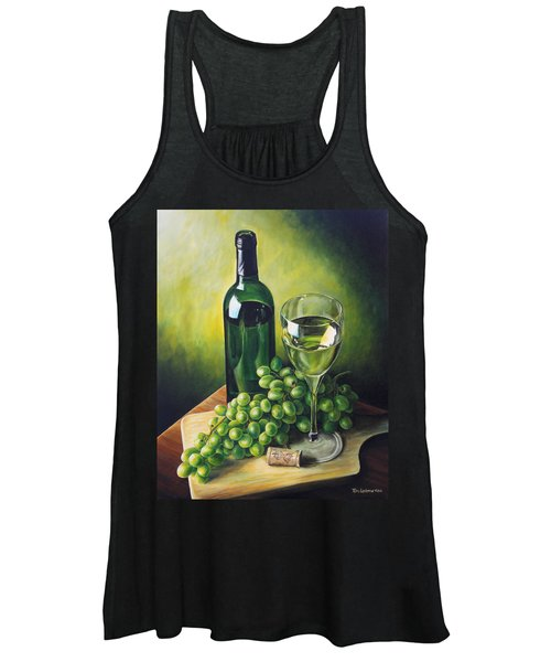 Grapes And Wine Women's Tank Top