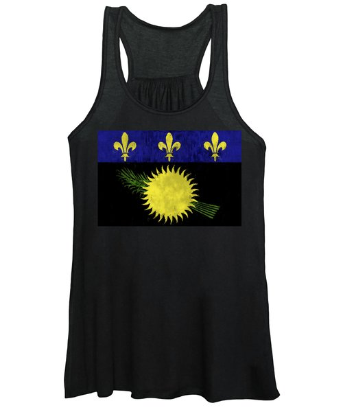 Guadeloupe Flag Women's Tank Top
