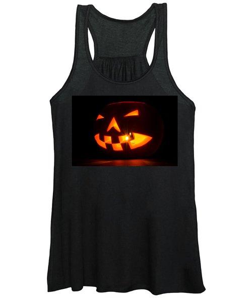 Halloween - Smiling Jack O' Lantern Women's Tank Top