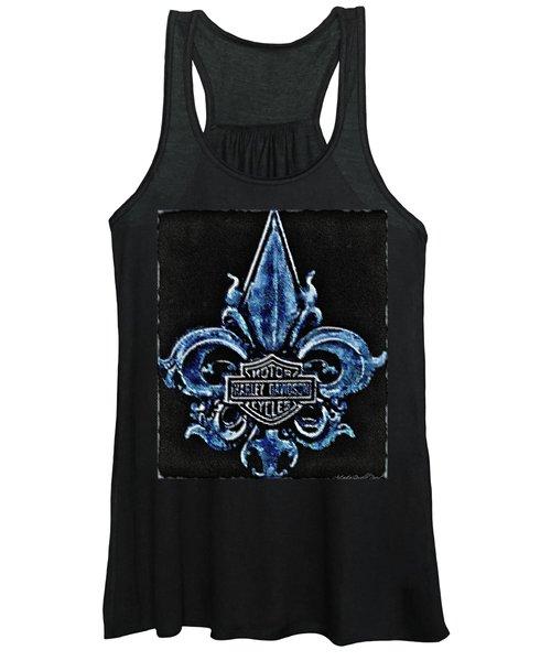 Harley Davidson Fleur De Lys Logo Women's Tank Top