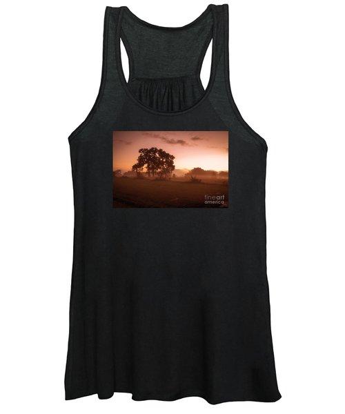 Hazy Morn Women's Tank Top