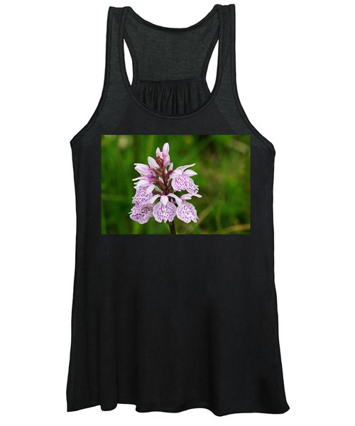 Heath Spotted Orchid Women's Tank Top