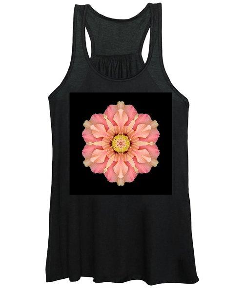 Hibiscus Rosa-sinensis I Flower Mandala Women's Tank Top