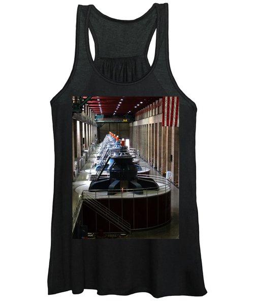 Hoover Dam Generator Room Women's Tank Top