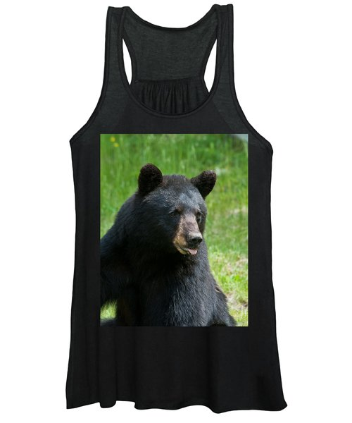Hot Day In Bear Country Women's Tank Top