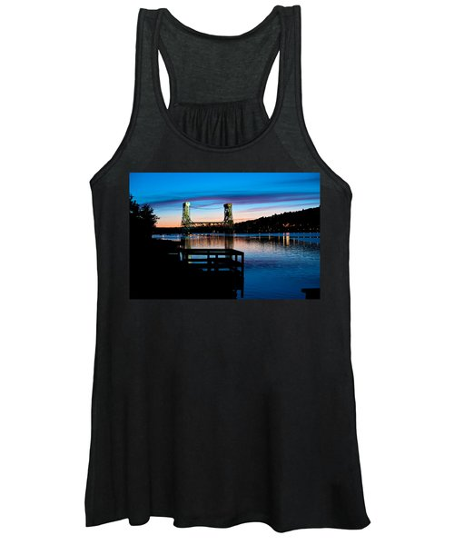 Houghton Bridge Sunset Women's Tank Top