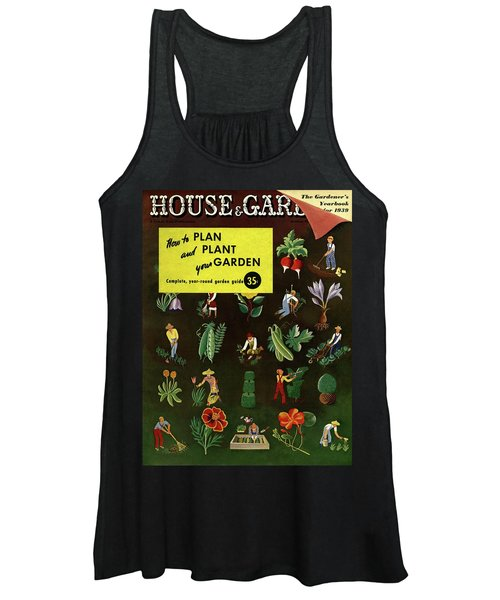 House And Garden How To Plan And Plant Women's Tank Top