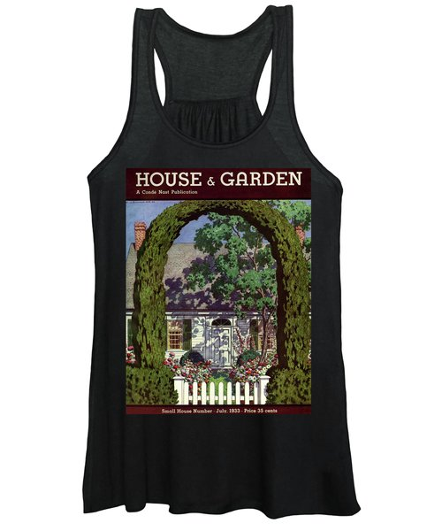 House And Garden Small House Number Women's Tank Top