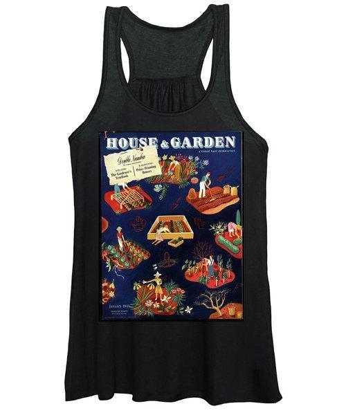 House And Garden The Gardener's Yearbook Cover Women's Tank Top
