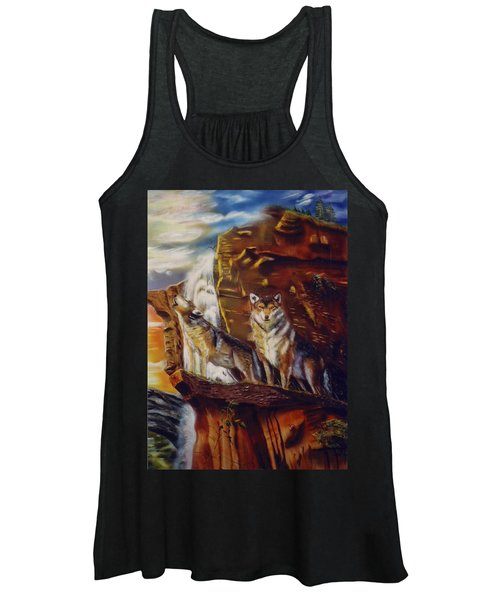 Howling For The Nightlife  Women's Tank Top