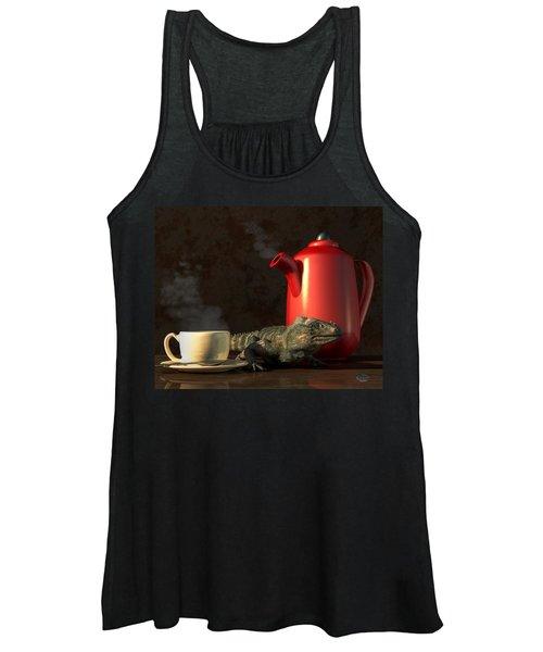 Iguana Coffee Women's Tank Top
