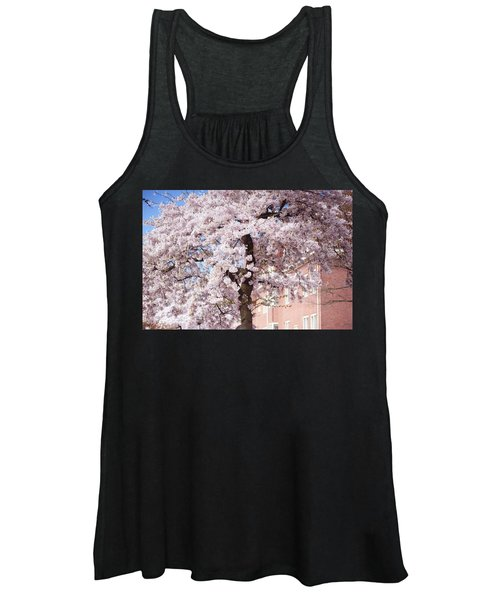 In Its Glory. Pink Spring In Amsterdam Women's Tank Top