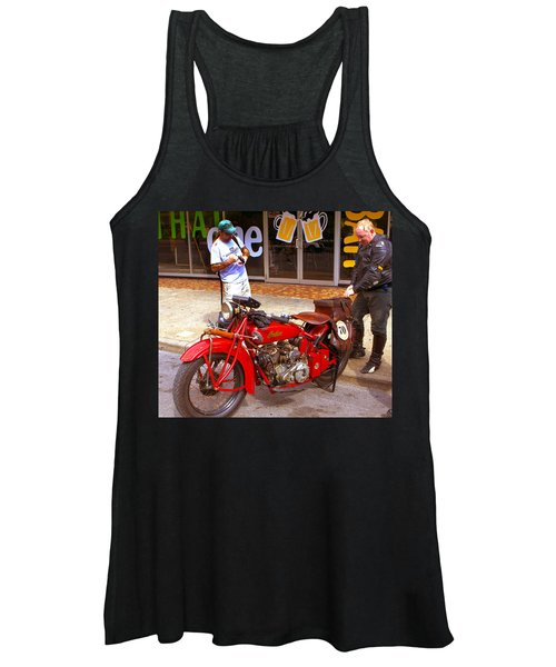 Inspecting Indian #70 Women's Tank Top