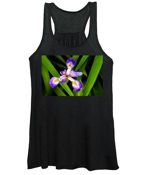 Iris Pinwheel Women's Tank Top