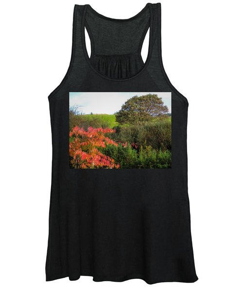 Irish Autumn Countryside Women's Tank Top