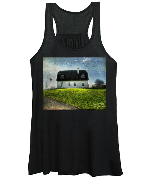 Irish Thatched Roofed Home Women's Tank Top