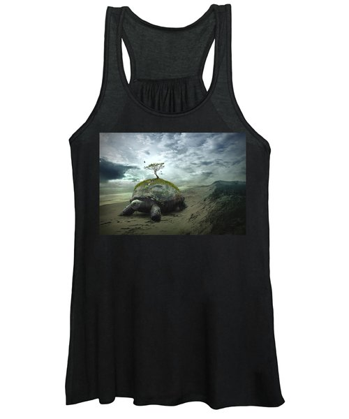 Iroquois Creation Story Women's Tank Top