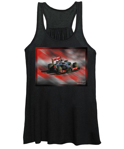 Jenson Button  Women's Tank Top