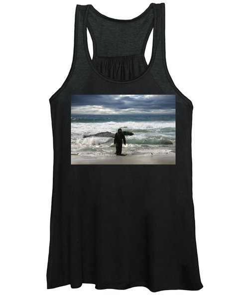 Jesus Christ- Behold I Come Quickly Women's Tank Top