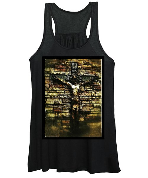 Jesus Coming Into View Women's Tank Top