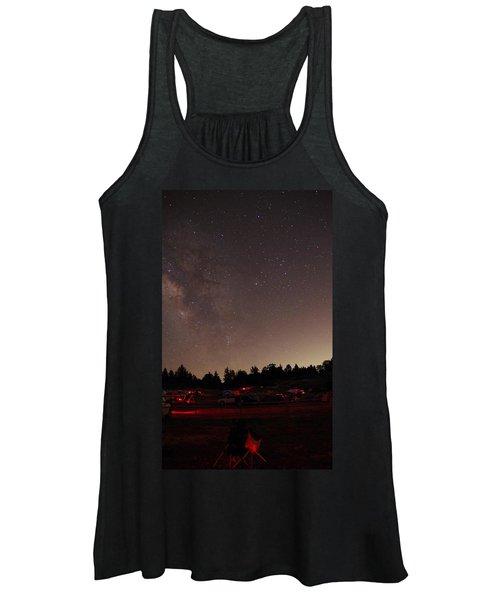 Julian Night Sky Milky Way Women's Tank Top