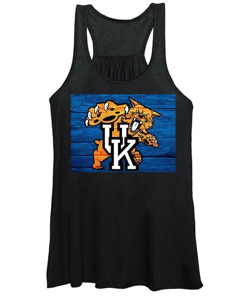 Kentucky Wildcats Barn Door Women's Tank Top