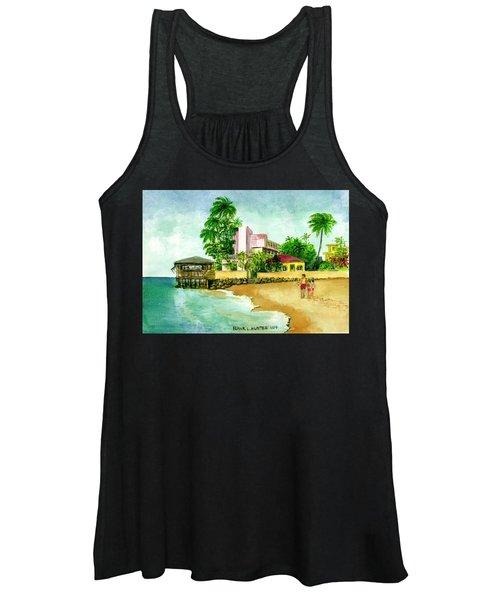 La Playa Hotel Isla Verde Puerto Rico Women's Tank Top