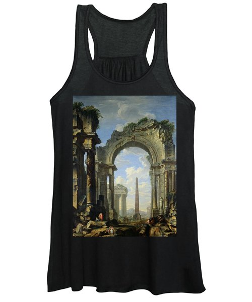 Landscape With Ruins Women's Tank Top