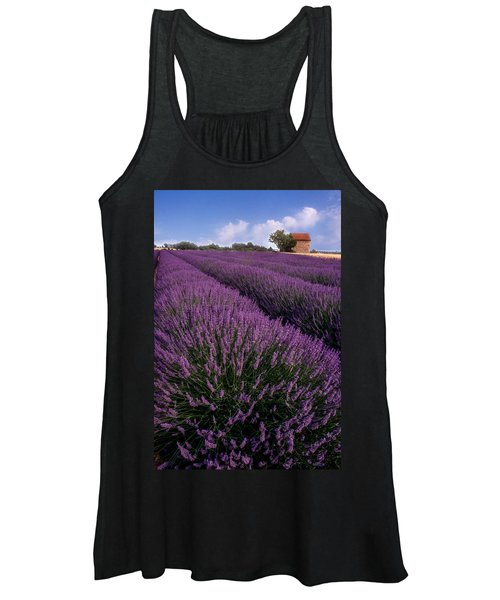 Lavender In Provence Women's Tank Top