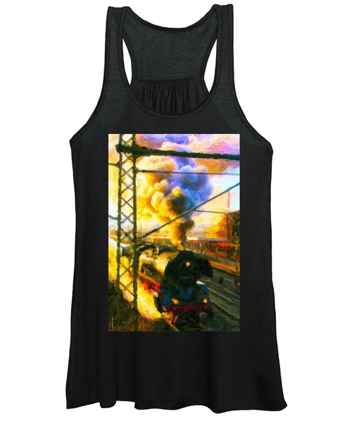 Leaving The Station Women's Tank Top