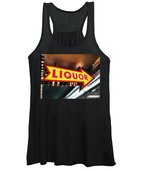 Liquor Store Sign Women's Tank Top