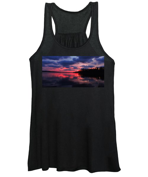 Locust Sunset Women's Tank Top