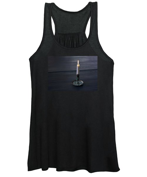Lonely Candle Women's Tank Top