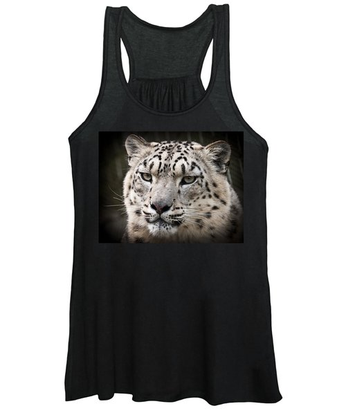 Look Into My Leopard Eyes Women's Tank Top