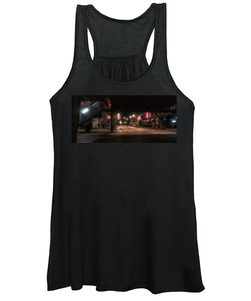 Looking East From Wabash Women's Tank Top