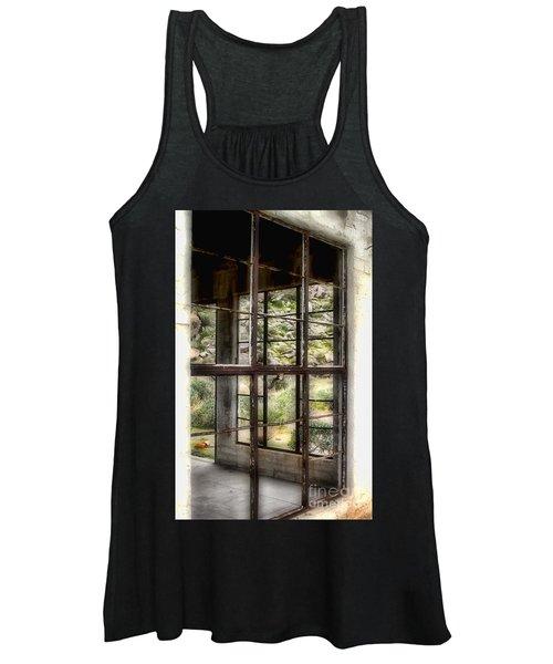Looking Through The Window By Diana Sainz Women's Tank Top