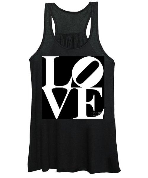 Love 20130707 White Black Women's Tank Top