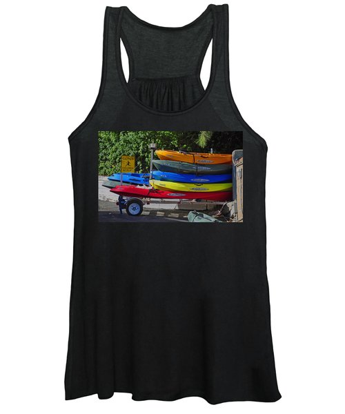 Malibu Kayaks Women's Tank Top