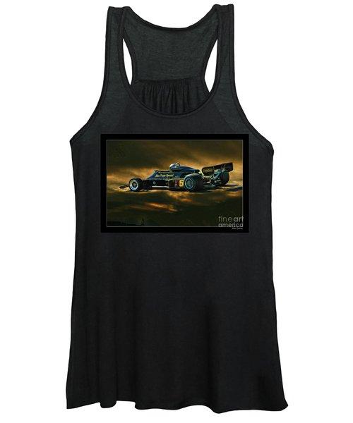 Mario Andretti John Player Special Lotus 79  Women's Tank Top