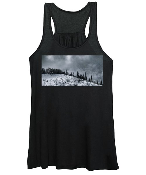 Melancholia Pines And Trees Women's Tank Top